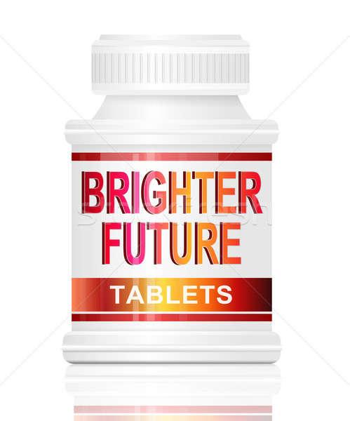 Brighter future concept. Stock photo © 72soul