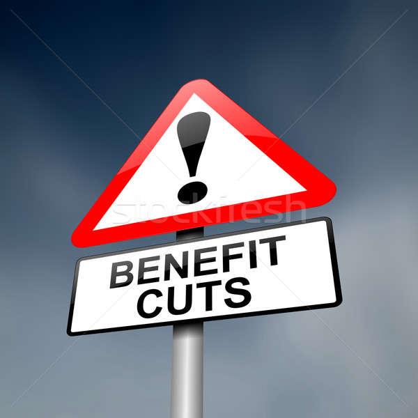 благосостояние иллюстрация дороги дорожный знак Cut Сток-фото © 72soul