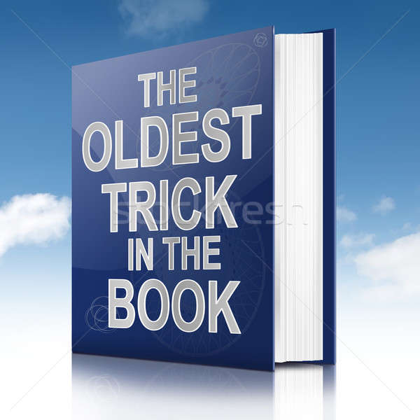 The oldest trick. Stock photo © 72soul