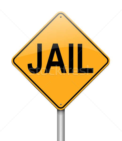 Jail concept Stock photo © 72soul