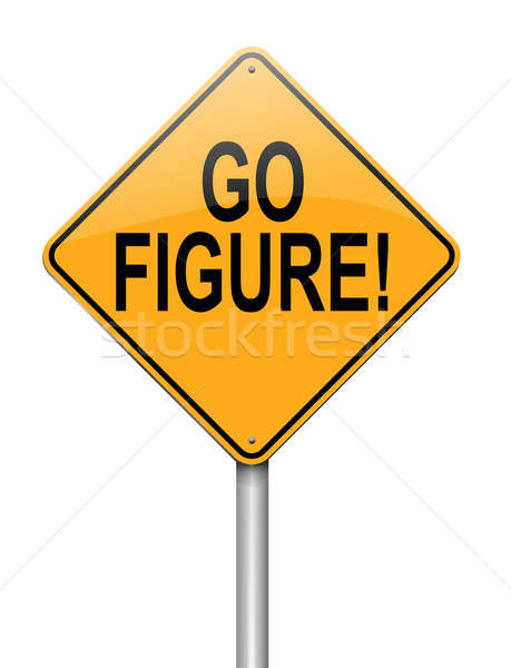 Go figure concept. Stock photo © 72soul