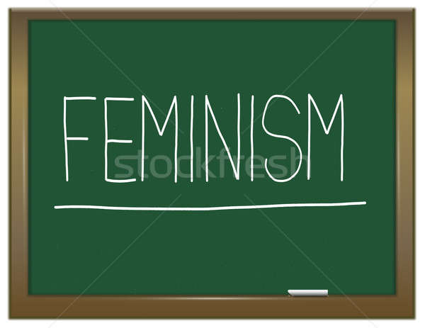 Feminism concept. Stock photo © 72soul