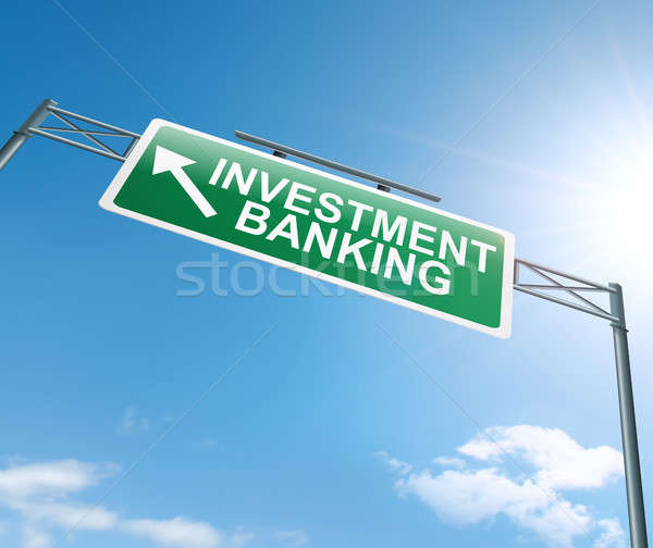 Investment banking concept. Stock photo © 72soul