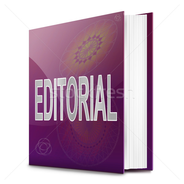 Editorial book. Stock photo © 72soul