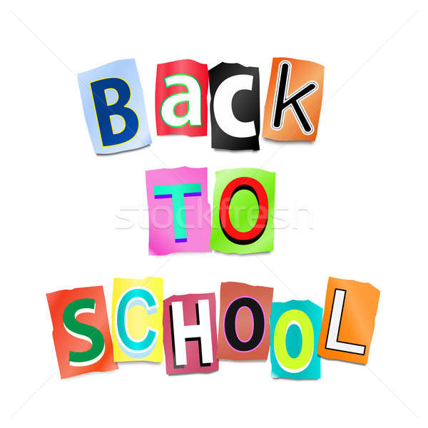 Back to school. Stock photo © 72soul