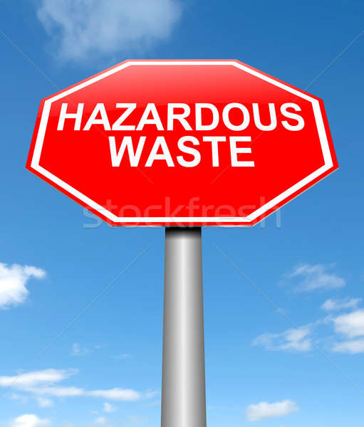Hazardous waste concept. Stock photo © 72soul