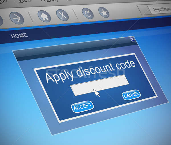 Discount code concept. Stock photo © 72soul