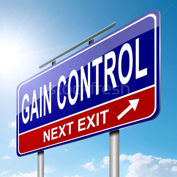 Gain control concept. Stock photo © 72soul