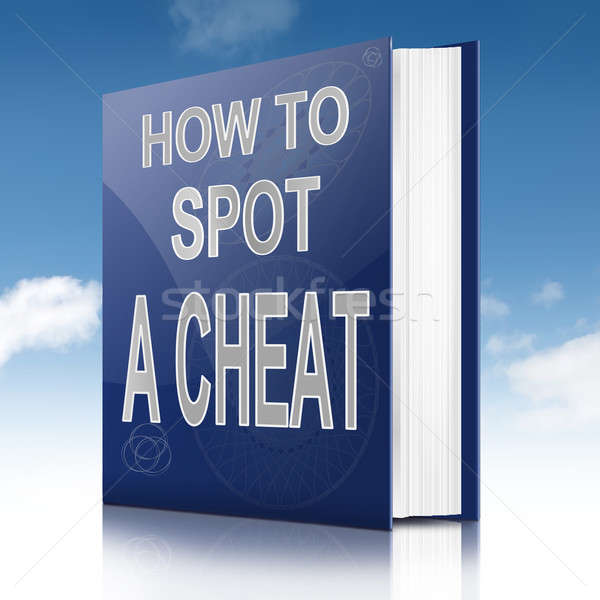 Spot a cheat. Stock photo © 72soul