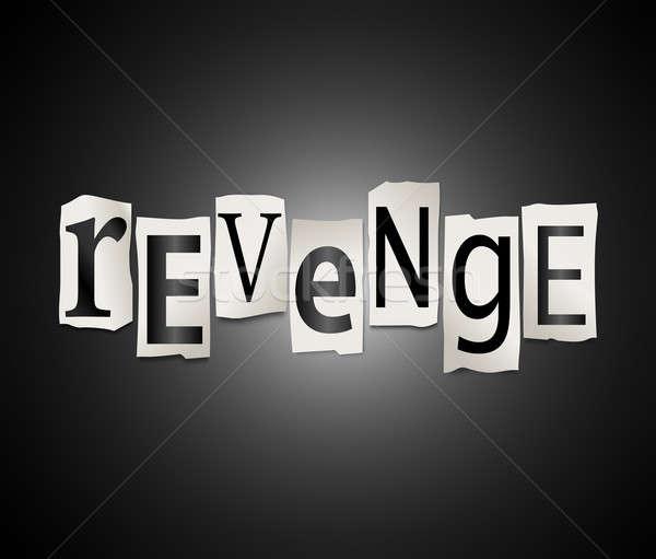 Revenge concept. Stock photo © 72soul