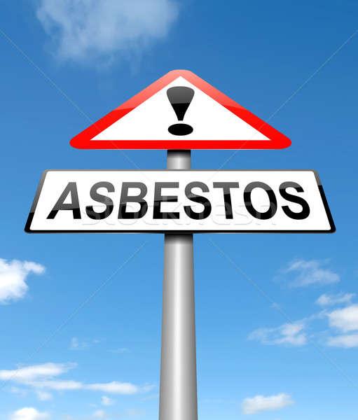 Asbestos concept. Stock photo © 72soul