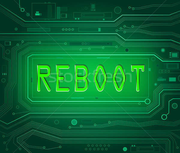 Reboot concept. Stock photo © 72soul