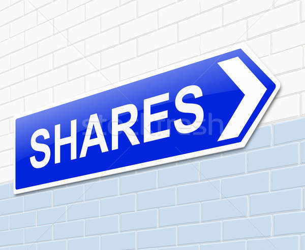 Shares concept. Stock photo © 72soul