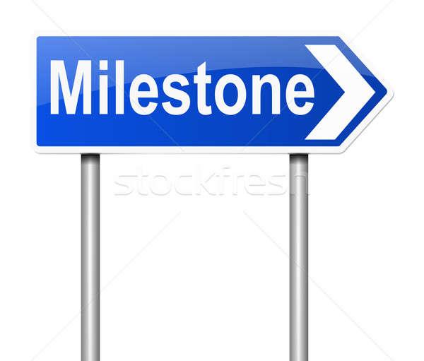 Milestone concept. Stock photo © 72soul