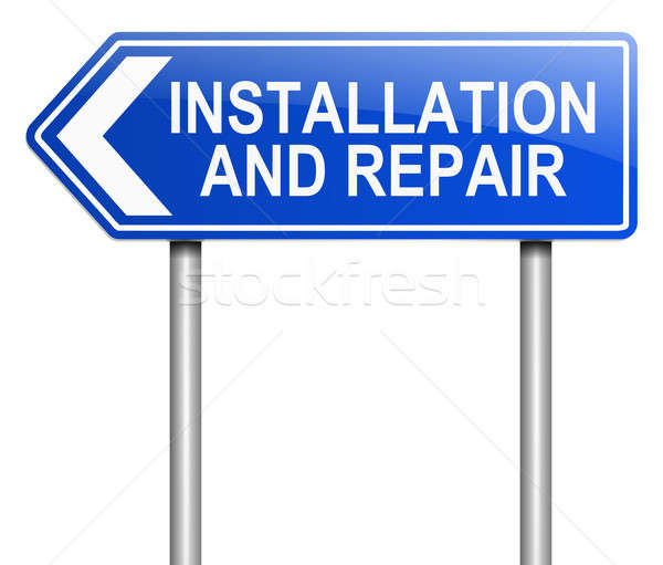 Installation and repair concept. Stock photo © 72soul