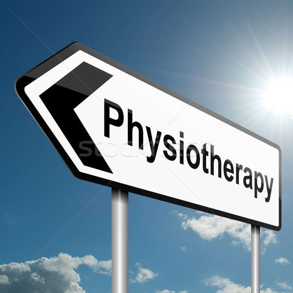 Physiotherapy concept. Stock photo © 72soul