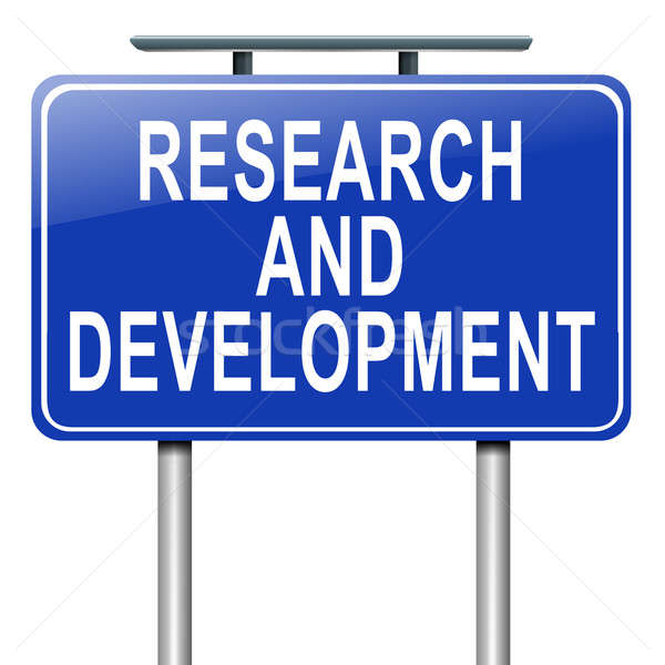 Research and development concept. Stock photo © 72soul