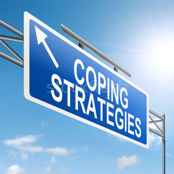 Coping strategies. Stock photo © 72soul