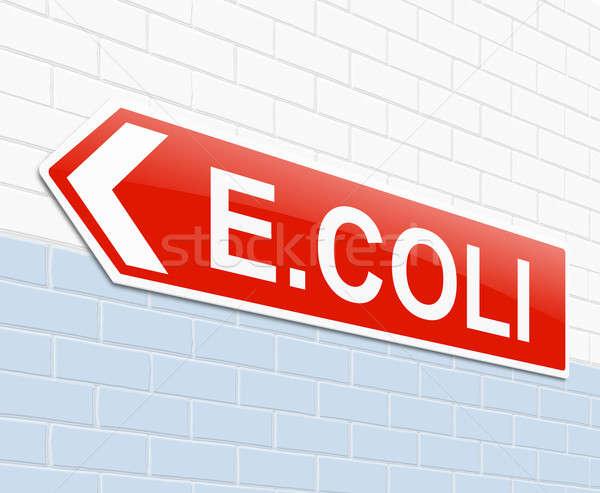 E coli concept. Stock photo © 72soul