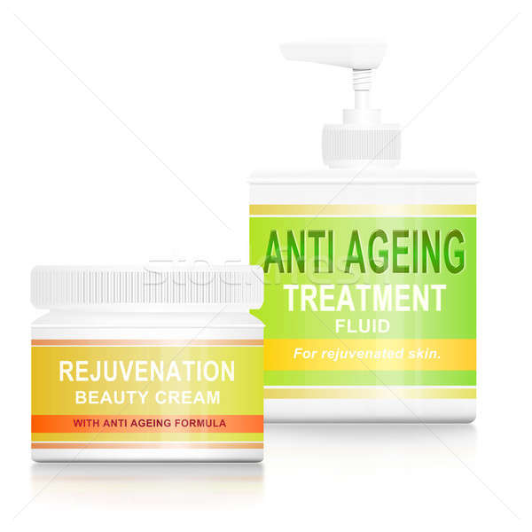 Anti ageing products. Stock photo © 72soul