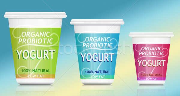Probiotic yogurt. Stock photo © 72soul