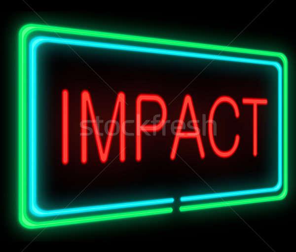 Impact concept. Stock photo © 72soul
