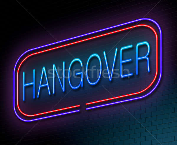 Hangover concept. Stock photo © 72soul