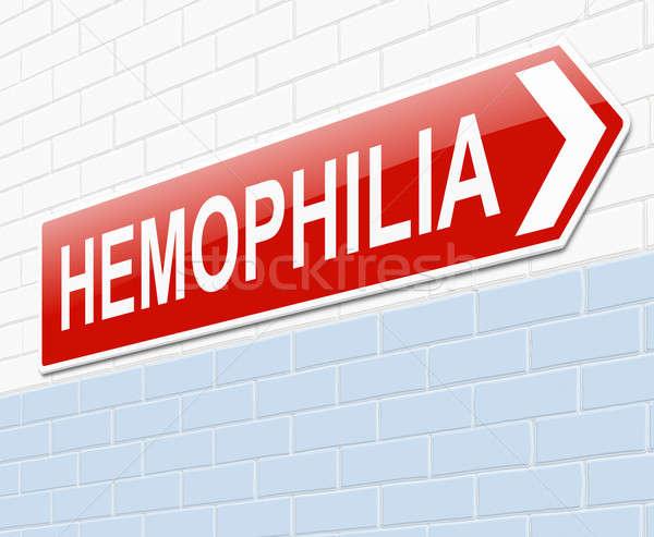 Hemophilia concept. Stock photo © 72soul