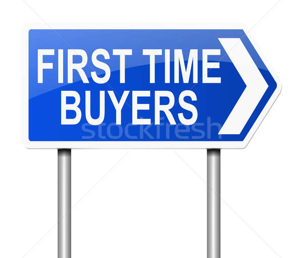 First time buyer concept. Stock photo © 72soul