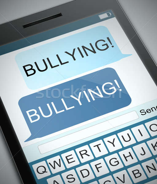 Bullying concept. Stock photo © 72soul