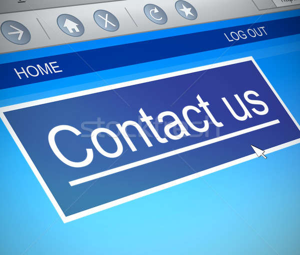 Contact us concept. Stock photo © 72soul