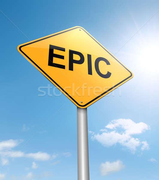 Epic concept. Stock photo © 72soul