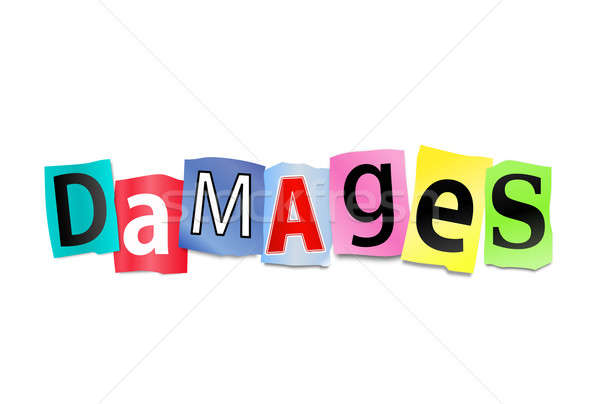 Damages concept. Stock photo © 72soul