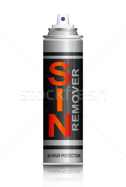 Sin remover concept. Stock photo © 72soul