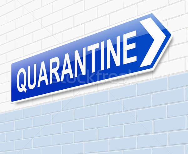 Quarantine concept. Stock photo © 72soul