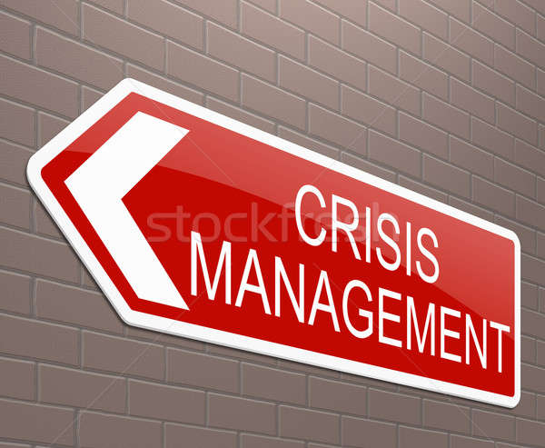 Crisis management concept. Stock photo © 72soul