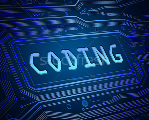 Coding concept. Stock photo © 72soul