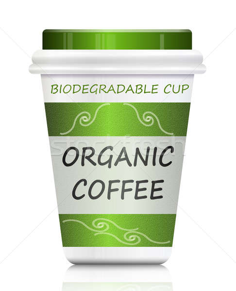 Environmentally friendly coffee. Stock photo © 72soul