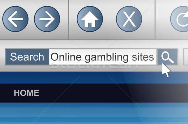 Online gambling. Stock photo © 72soul