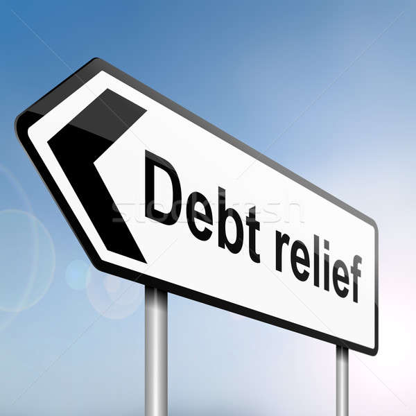 Debt relief concept. Stock photo © 72soul