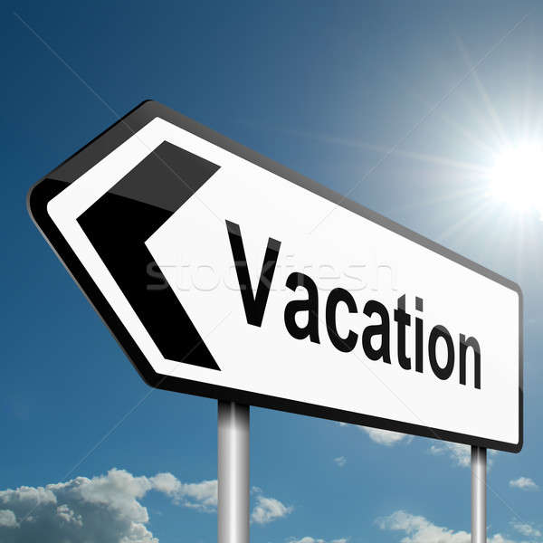 Time for a vacation. Stock photo © 72soul