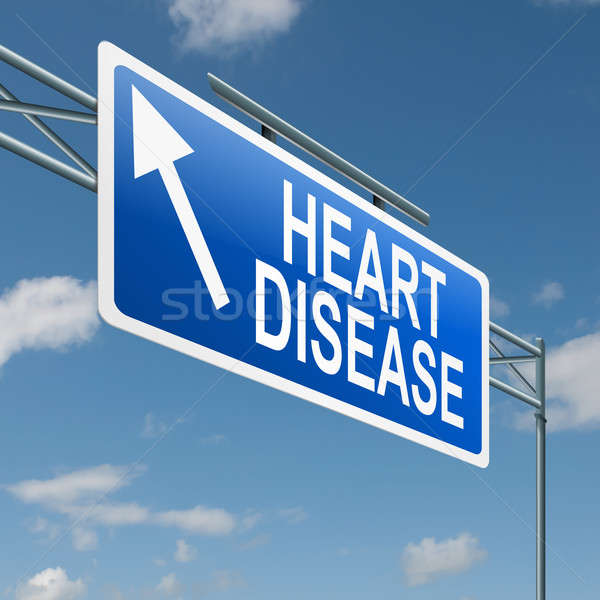 Heart disease concept. Stock photo © 72soul