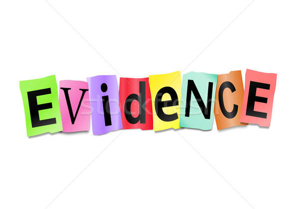 Evidence concept. Stock photo © 72soul