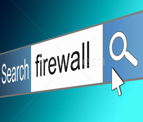 Firewall concept. Stock photo © 72soul