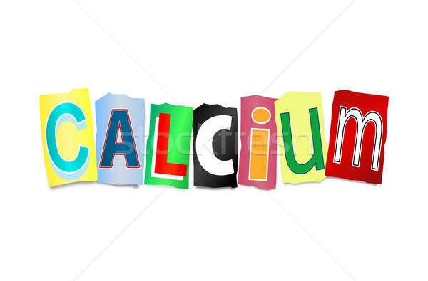 Calcium concept. Stock photo © 72soul