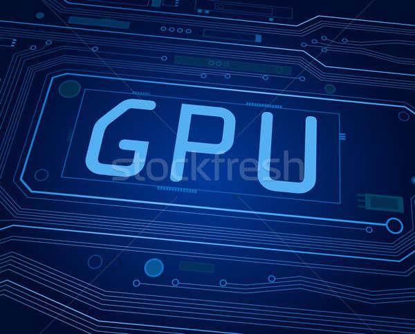 GPU concept. Stock photo © 72soul