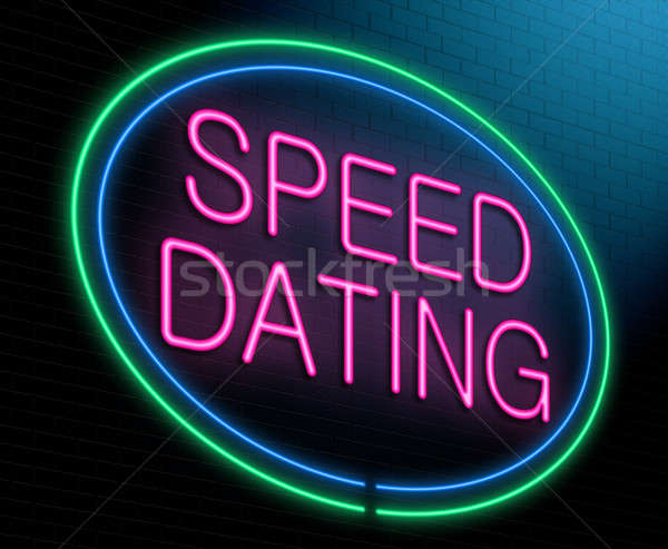 Speed dating concept. Stock photo © 72soul