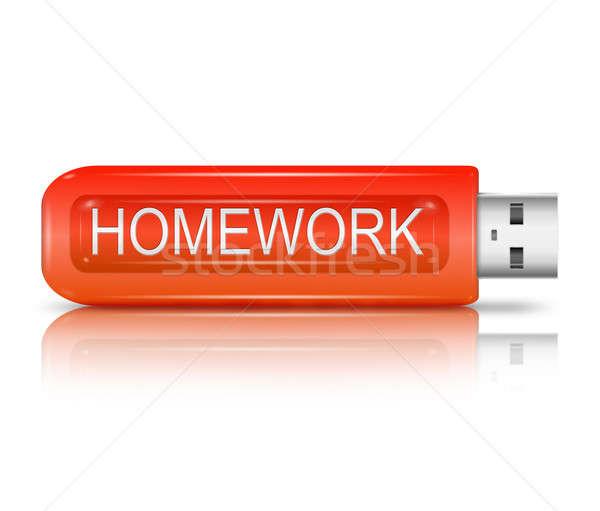 Homework concept. Stock photo © 72soul