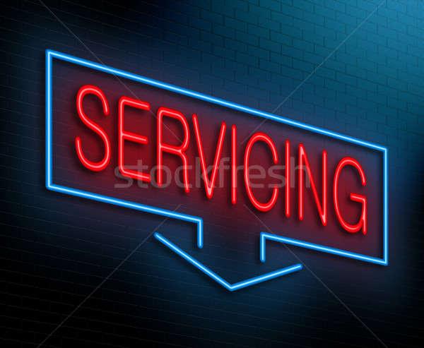 Servicing concept. Stock photo © 72soul