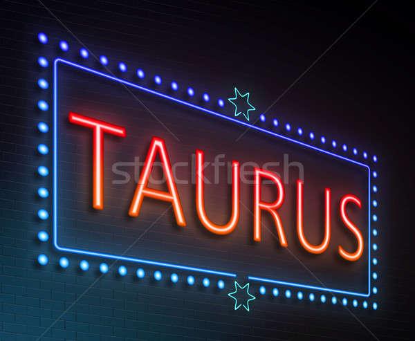 Taurus sign concept. Stock photo © 72soul